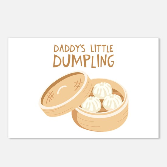 DADDYS LITTLE DUMPLING Postcards (Package of 8)