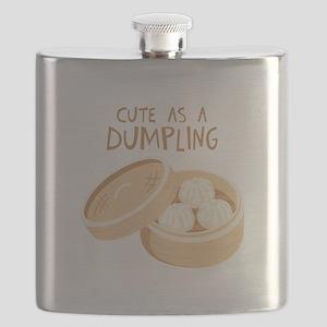 CUTE AS A DUMPLING Flask