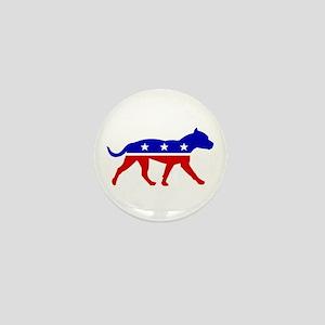 Pit Bull Party Mini Button