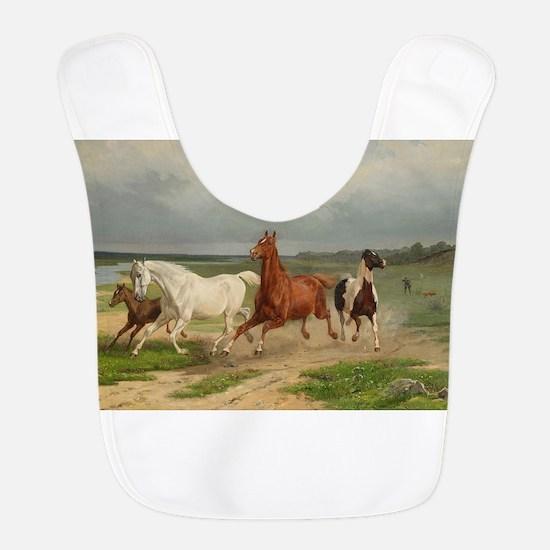 Wild Horses on the Run Bib