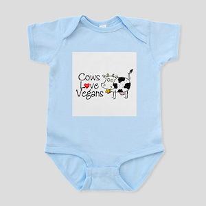 Cows Love Vegans Infant Bodysuit