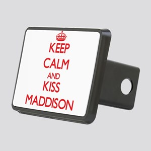 Keep Calm and Kiss Maddison Hitch Cover