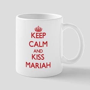 Keep Calm and Kiss Mariah Mugs