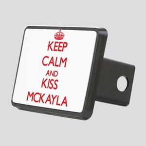 Keep Calm and Kiss Mckayla Hitch Cover