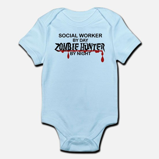 Zombie Hunter - Social Worker Infant Bodysuit