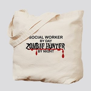 Zombie Hunter - Social Worker Tote Bag