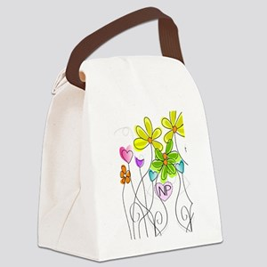 Nurse Practitioner Canvas Lunch Bag
