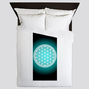 Pants_Flower of Life Queen Duvet
