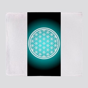 Pants_Flower of Life Throw Blanket