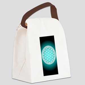 Pants_Flower of Life Canvas Lunch Bag
