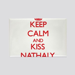 Keep Calm and Kiss Nathaly Magnets