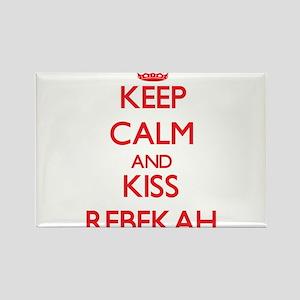 Keep Calm and Kiss Rebekah Magnets