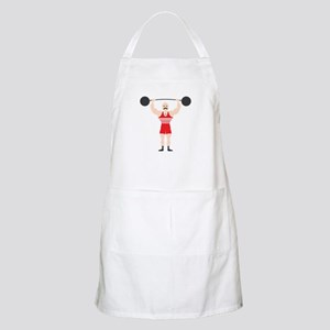 Circus Weightlifter Strong Man Apron