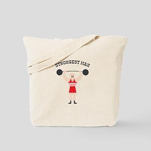 STRONGEST MAN Tote Bag
