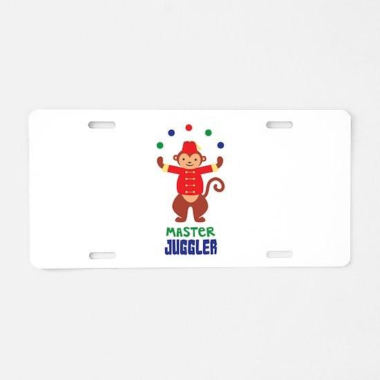 MASTER JUGGLER Aluminum License Plate