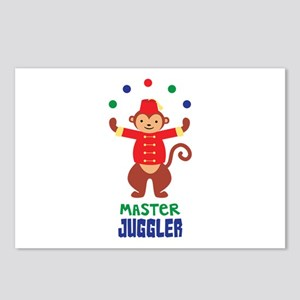 MASTER JUGGLER Postcards (Package of 8)
