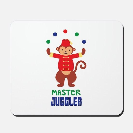MASTER JUGGLER Mousepad