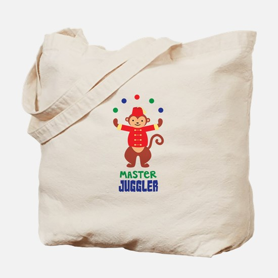 MASTER JUGGLER Tote Bag