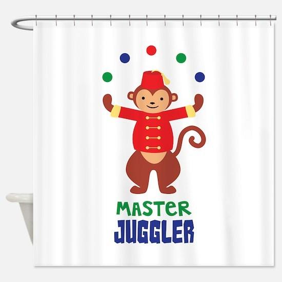 MASTER JUGGLER Shower Curtain