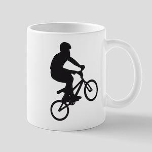 BMX Bike trick jump Mugs