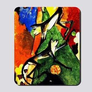 Franz Marc - Two Monkeys Mousepad
