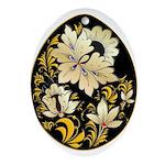 Ukrainian Egg - 11 - Ornament (Oval)