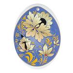 Ukrainian Egg - 14 - Ornament (Oval)