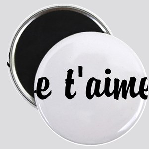 je t'aime I LOVE YOU in French Magnet