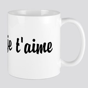 je t'aime I LOVE YOU in French Mug