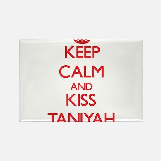 Keep Calm and Kiss Taniyah Magnets