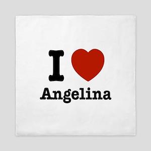 I love Angelina Queen Duvet