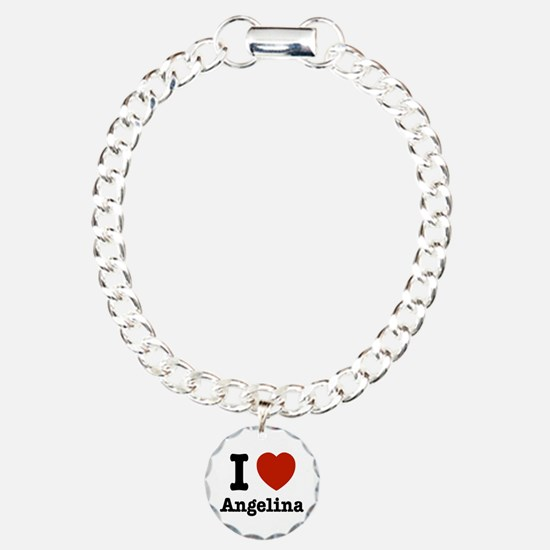 I love Angelina Bracelet