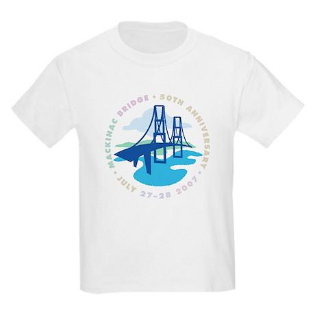 Mackinac Bridge Kids Light T-Shirt