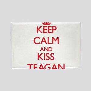 Keep Calm and Kiss Teagan Magnets