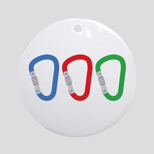 Carabiners Ornament (Round)