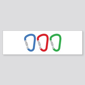 Carabiners Bumper Sticker