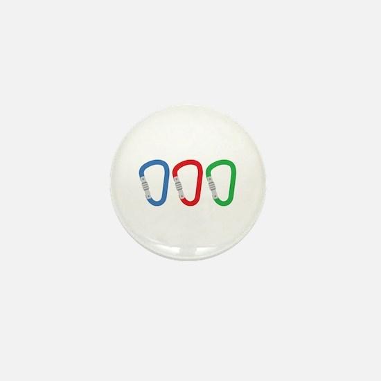 Carabiners Mini Button