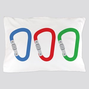 Carabiners Pillow Case