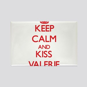 Keep Calm and Kiss Valerie Magnets