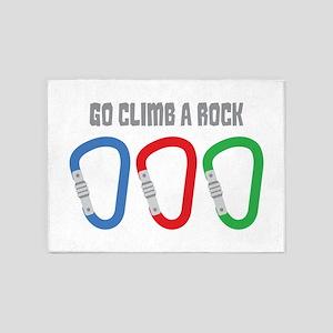 GO CLIMB A ROCK 5'x7'Area Rug