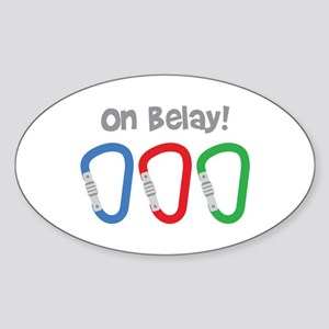 On Belay! Sticker