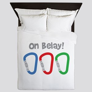 On Belay! Queen Duvet