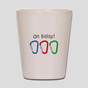 On Belay! Shot Glass