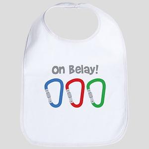On Belay! Bib