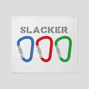 SLACKER Throw Blanket