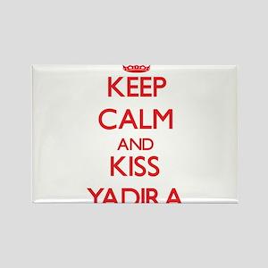 Keep Calm and Kiss Yadira Magnets