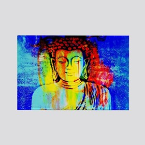 Lord Buddha Rectangle Magnet