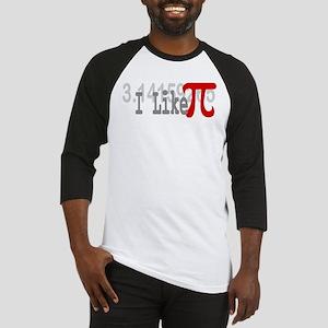 I Like Pi Geeky Baseball Jersey
