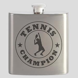 Tennis Champion Flask