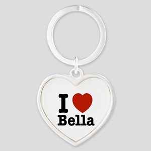 I love Bella Heart Keychain